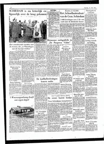 Rotterdamsch Parool / De Schiedammer 1955-05-21