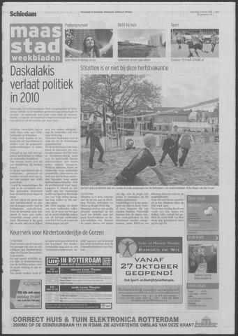 Maaspost / Maasstad / Maasstad Pers 2009-10-21