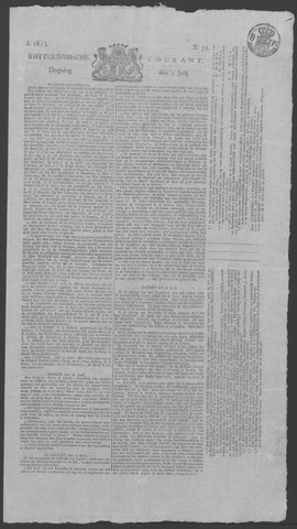 Rotterdamse Courant 1823-07-01