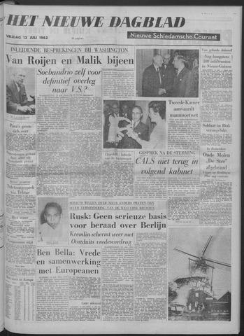 Nieuwe Schiedamsche Courant 1962-07-13