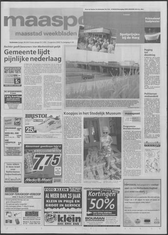 Maaspost / Maasstad / Maasstad Pers 2000-08-09