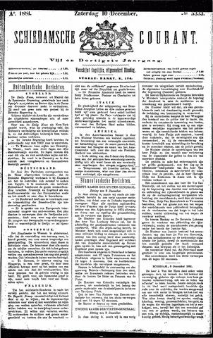 Schiedamsche Courant 1881-12-10
