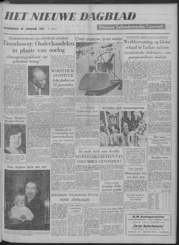 Nieuwe Schiedamsche Courant 1961-01-18