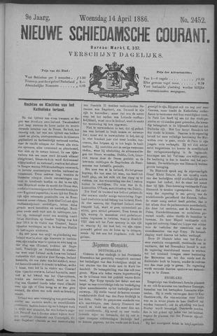 Nieuwe Schiedamsche Courant 1886-04-14