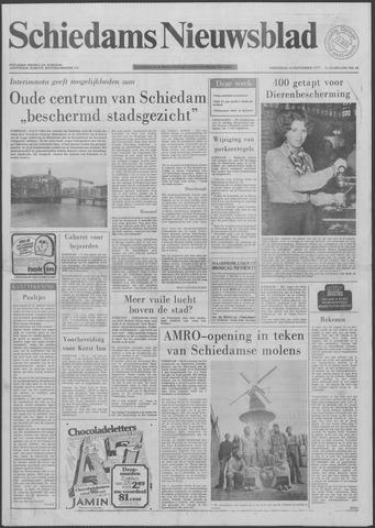 Schiedams Nieuwsblad 1977-11-16