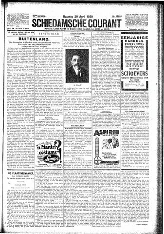 Schiedamsche Courant 1929-04-29