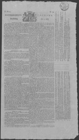 Rotterdamse Courant 1823-07-03