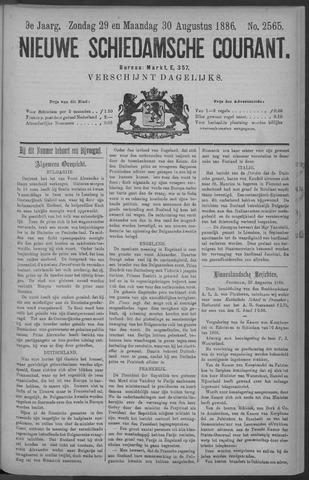 Nieuwe Schiedamsche Courant 1886-08-30