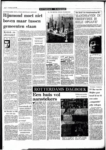 Rotterdamsch Parool / De Schiedammer 1968-04-03