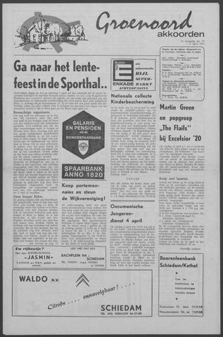 Groenoord Akkoorden 1971-04-01