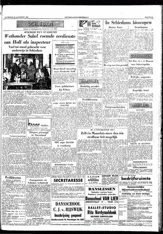 Rotterdamsch Nieuwsblad / Schiedamsche Courant / Rotterdams Dagblad / Waterweg / Algemeen Dagblad 1959-08-29