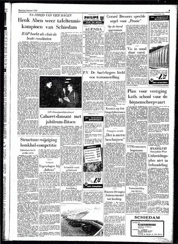 Rotterdamsch Parool / De Schiedammer 1962-01-08