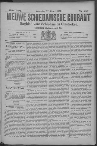 Nieuwe Schiedamsche Courant 1897-03-27