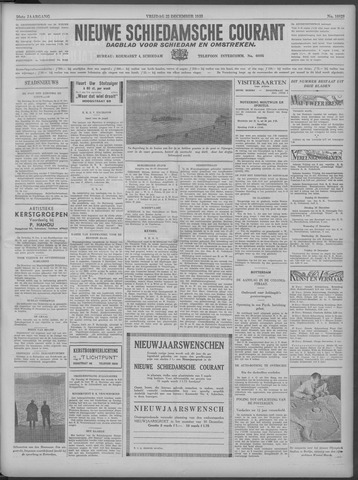Nieuwe Schiedamsche Courant 1933-12-22