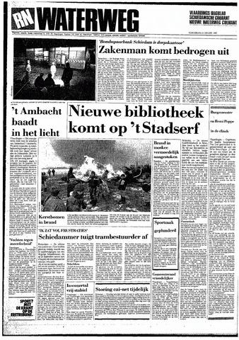 Rotterdamsch Nieuwsblad / Schiedamsche Courant / Rotterdams Dagblad / Waterweg / Algemeen Dagblad 1987-01-08
