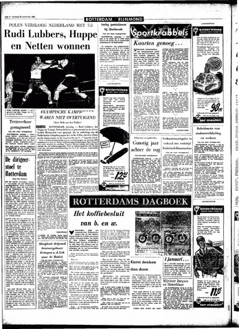Rotterdamsch Parool / De Schiedammer 1966-11-29