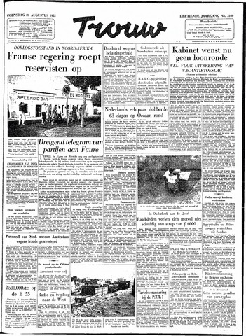 Trouw / De Rotterdammer 1955-08-24