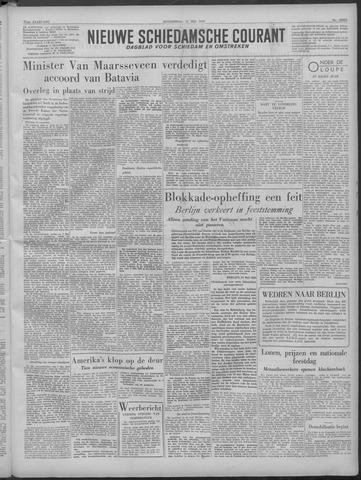 Nieuwe Schiedamsche Courant 1949-05-12