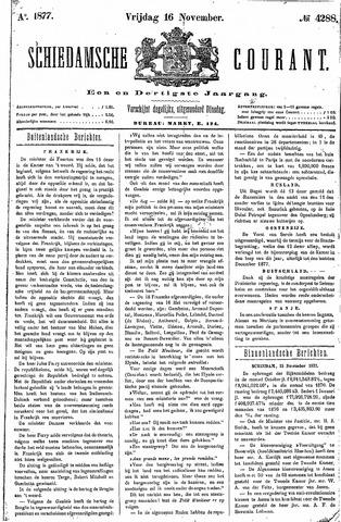 Schiedamsche Courant 1877-11-16