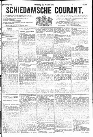 Schiedamsche Courant 1910-03-22