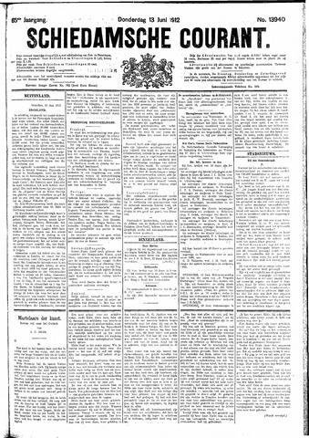 Schiedamsche Courant 1912-06-13