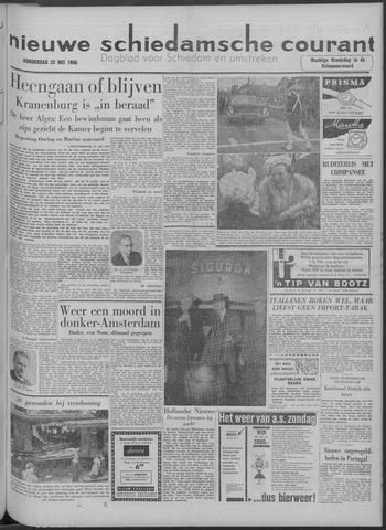Nieuwe Schiedamsche Courant 1958-05-22
