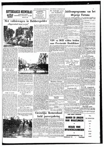 Rotterdamsch Nieuwsblad / Schiedamsche Courant / Rotterdams Dagblad / Waterweg / Algemeen Dagblad 1964-02-13
