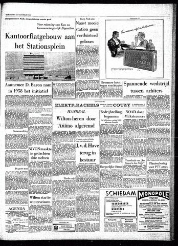 Rotterdamsch Parool / De Schiedammer 1963-10-23
