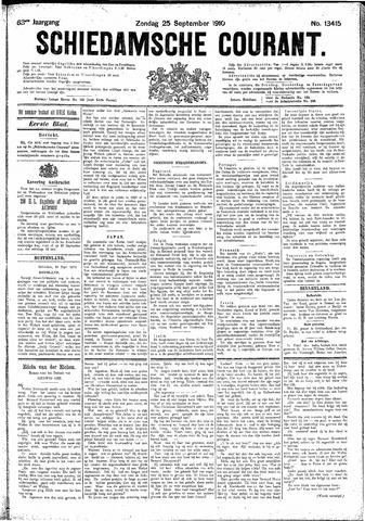 Schiedamsche Courant 1910-09-25