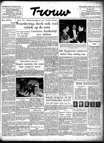 Trouw / De Rotterdammer 1954-03-27