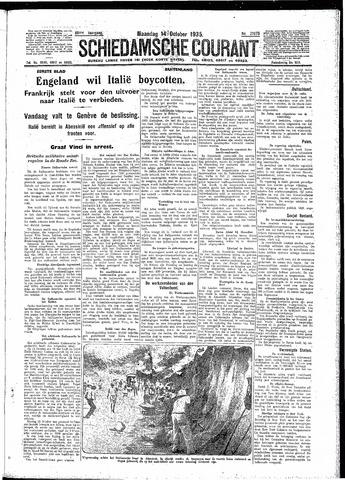 Schiedamsche Courant 1935-10-14