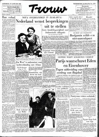 Trouw / De Rotterdammer 1956-01-28