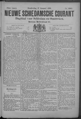 Nieuwe Schiedamsche Courant 1901-01-17