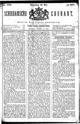 Schiedamsche Courant 1879-05-26