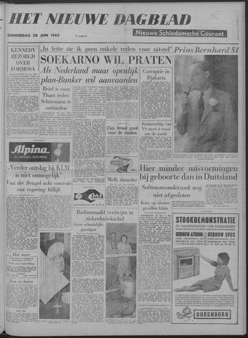 Nieuwe Schiedamsche Courant 1962-06-28