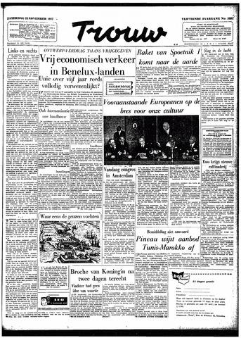 Trouw / De Rotterdammer 1957-11-23