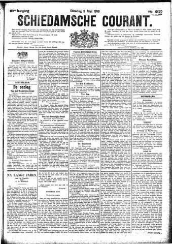 Schiedamsche Courant 1916-05-09