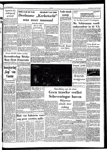 Trouw / De Rotterdammer 1964-01-25