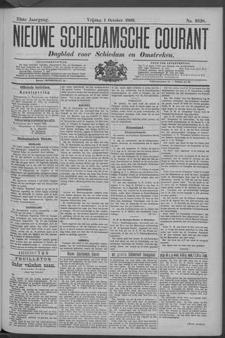 Nieuwe Schiedamsche Courant 1909-10-01