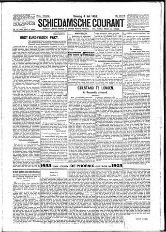 Schiedamsche Courant 1933-07-04