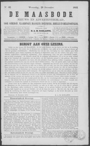 De Maasbode 1853-12-28