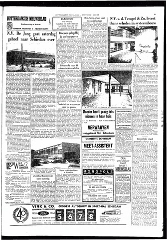 Rotterdamsch Nieuwsblad / Schiedamsche Courant / Rotterdams Dagblad / Waterweg / Algemeen Dagblad 1966-05-04