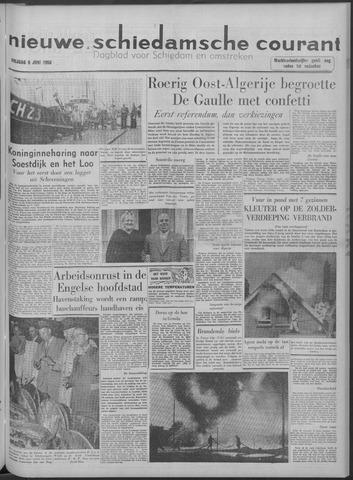Nieuwe Schiedamsche Courant 1958-06-06
