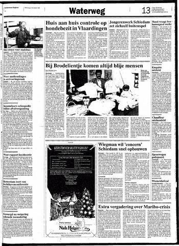 Rotterdamsch Nieuwsblad / Schiedamsche Courant / Rotterdams Dagblad / Waterweg / Algemeen Dagblad 1991-12-04