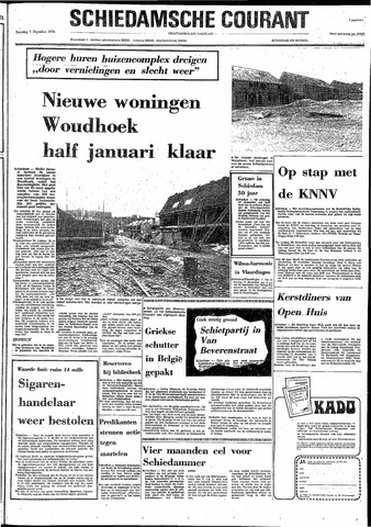 Rotterdamsch Nieuwsblad / Schiedamsche Courant / Rotterdams Dagblad / Waterweg / Algemeen Dagblad 1974-12-07