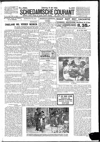 Schiedamsche Courant 1933-07-08
