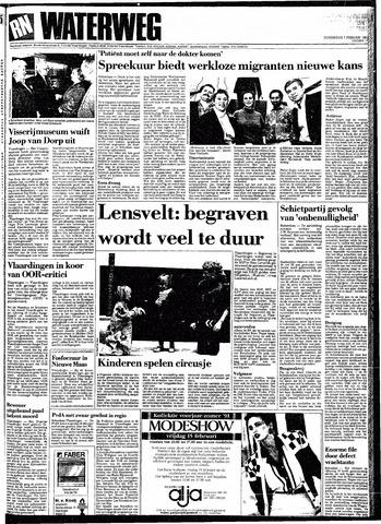 Rotterdamsch Nieuwsblad / Schiedamsche Courant / Rotterdams Dagblad / Waterweg / Algemeen Dagblad 1991-02-07