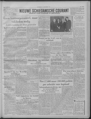 Nieuwe Schiedamsche Courant 1949-12-01