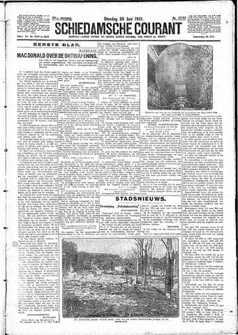 Schiedamsche Courant 1931-06-30