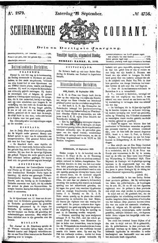 Schiedamsche Courant 1879-09-13